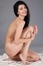 Stefany G Beautiful Nude Brunette