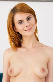 Daphne Shaved Slender Redhead