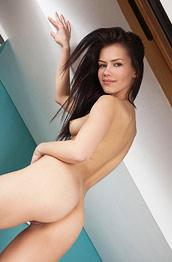 Laina Shows Small Tits