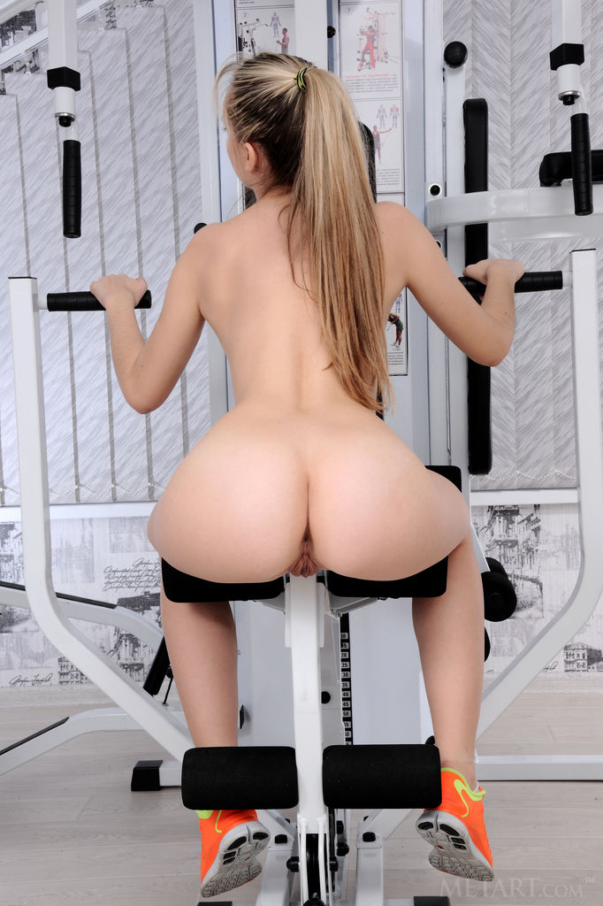 Workout adult nude