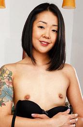 Saya Song Inked Hairy Asian