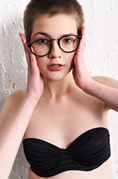 Jerricka Nerdy Girl with Glasses