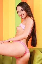 Angelina Jay Kinky Teen Strips