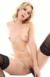 Casey Nohrman Kinky Blonde Toying