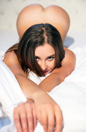 Milana Teasing Naked in Bed