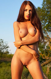 Niemira Nude in the Sunset