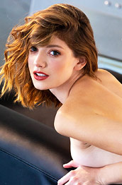 Lena Anderson Pale Leggy Redhead
