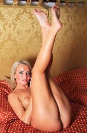 Emma Button Tan Blonde