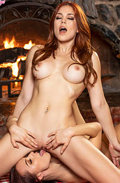 Molly Stewart Fun with a Hot Brunette