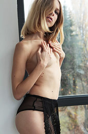 Nora Pace Black Lingerie