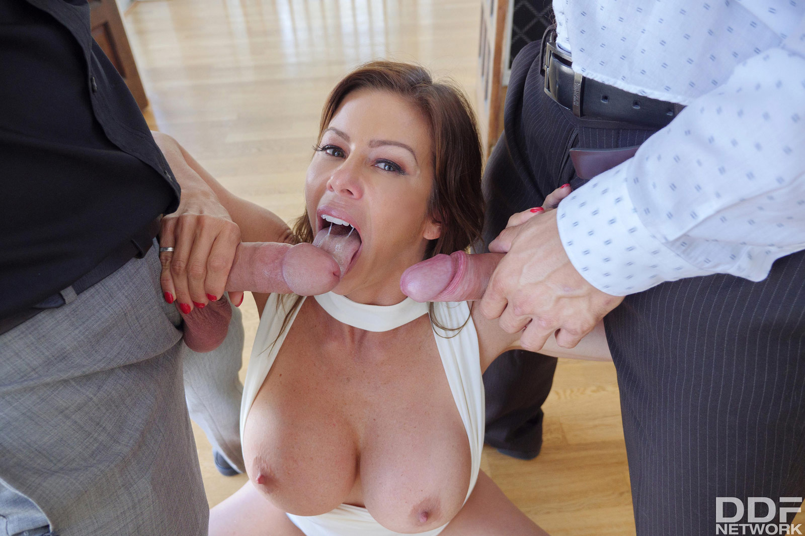 Double Teamed Teens Zoey