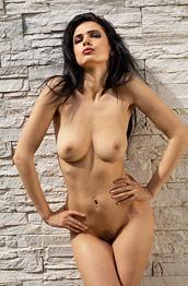 Jasmine Andreas Against the Wall