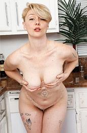 Dakota Rose Strips in the Kitchen