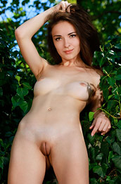 Chanel C Naked in a Big Bush