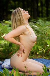 Elie P Nude in the Woods