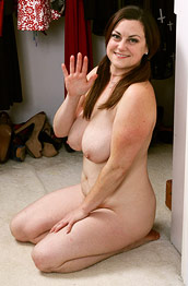 Denise Johnson Strips in the Closet