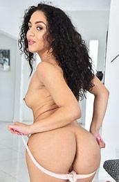 Liv Aguilera Sexy Latina in Lingerie