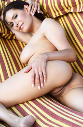 Susi R Naked in a Hammock