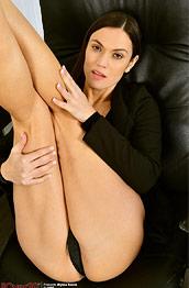 Alyssa Reece Office Babe Strips