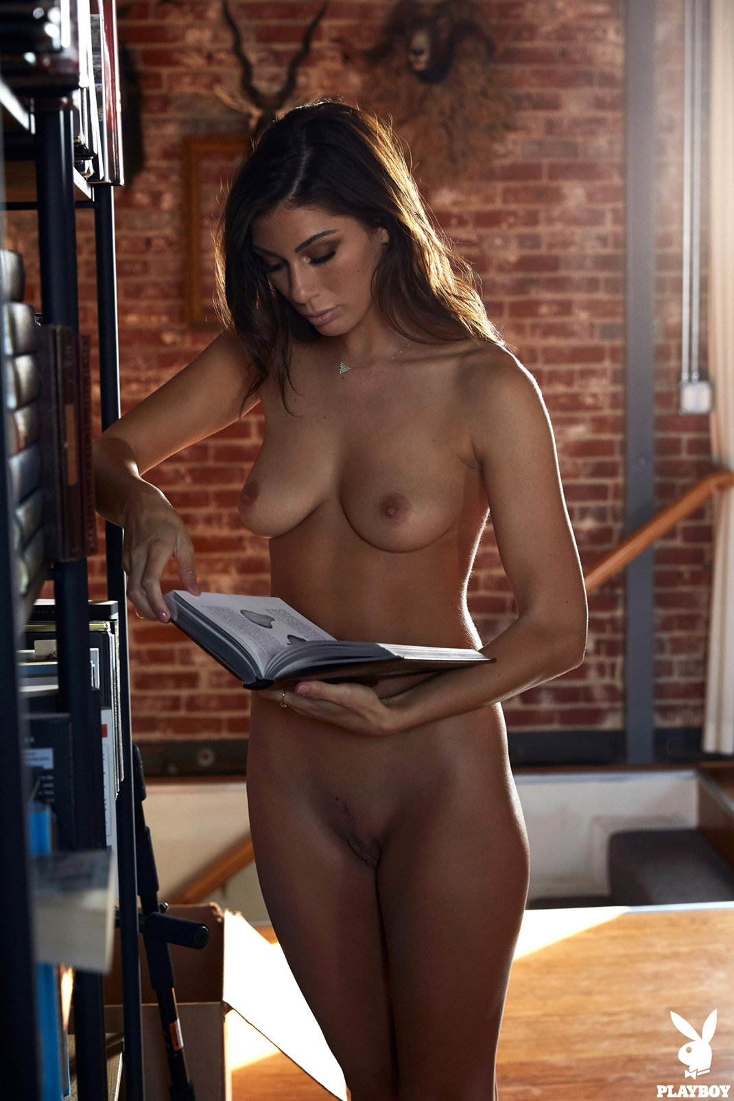 Nude Brunette Sydney Tattooed Girl