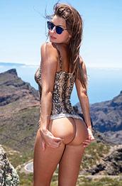 Maria Nude on Cliffs