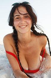 Dita Vetone Red Swimsuit