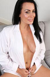 Kelli Smith Busty Babe in a Uniform