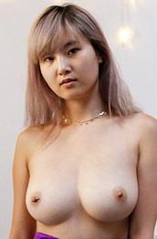 Barbie Qu Topless in Bed