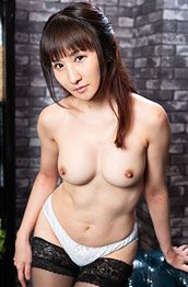 Rina Hot Asian in Stockings