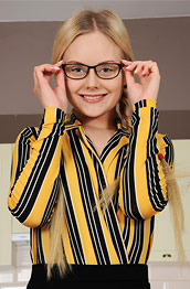 Isabella Star Petite Blonde With Glasses